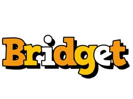 Bridget cartoon logo