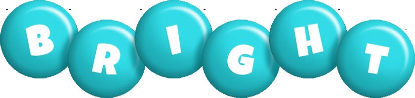 Bright candy-azur logo