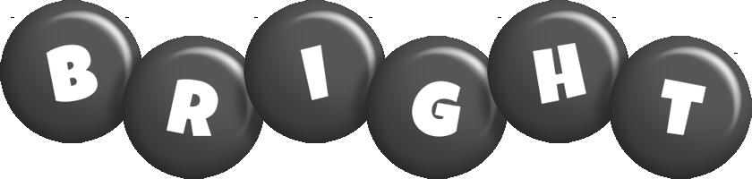 Bright candy-black logo