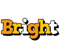 Bright cartoon logo