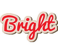 Bright chocolate logo