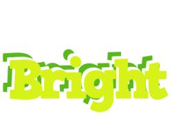 Bright citrus logo
