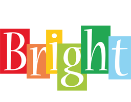 Bright colors logo