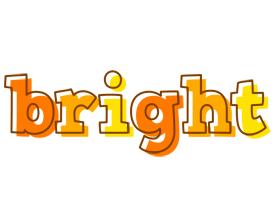 Bright desert logo