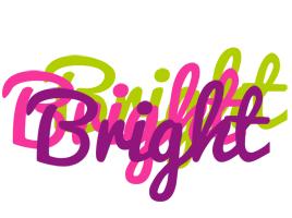 Bright flowers logo