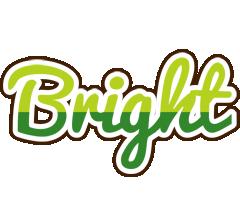 Bright golfing logo