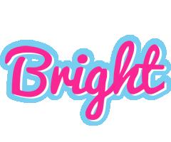 Bright popstar logo