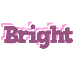 Bright relaxing logo