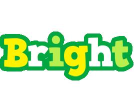 Bright soccer logo