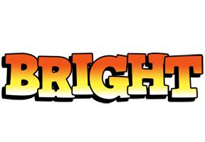 Bright sunset logo
