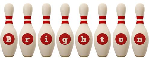 Brighton bowling-pin logo