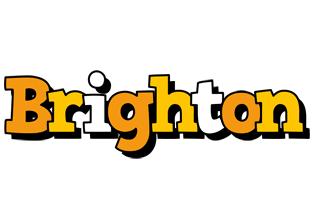 Brighton cartoon logo