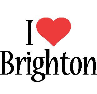 Brighton i-love logo