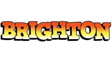 Brighton sunset logo