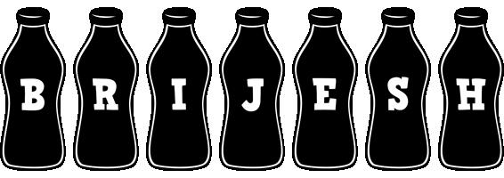Brijesh bottle logo