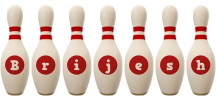 Brijesh bowling-pin logo