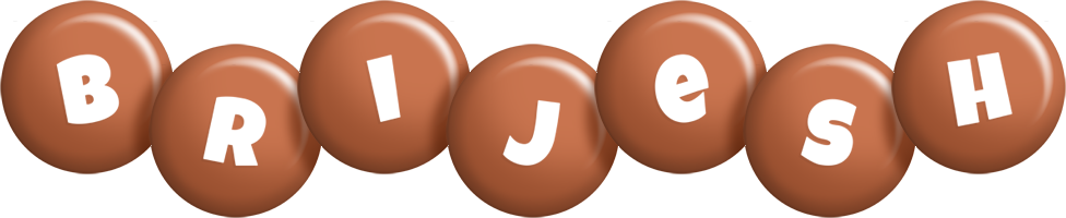 Brijesh candy-brown logo