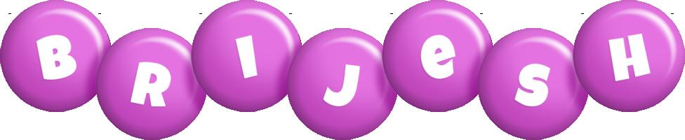 Brijesh candy-purple logo