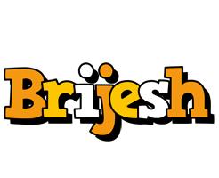 Brijesh cartoon logo