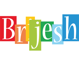Brijesh colors logo