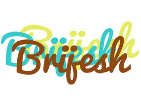 Brijesh cupcake logo
