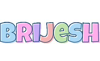 Brijesh pastel logo