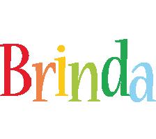 Brinda birthday logo