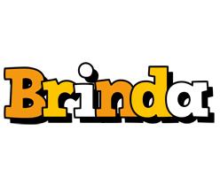 Brinda cartoon logo