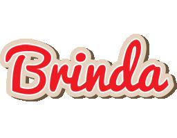 Brinda chocolate logo