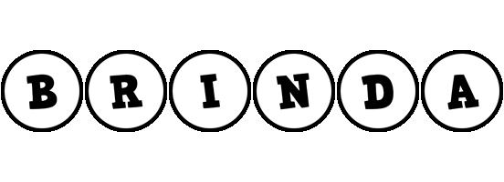 Brinda handy logo