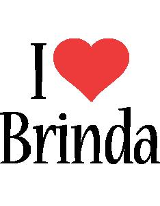 Brinda i-love logo