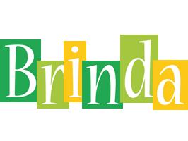 Brinda lemonade logo
