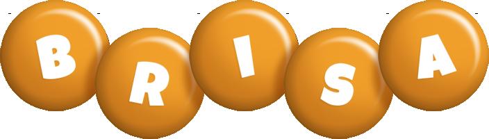 Brisa candy-orange logo