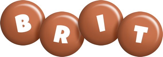 Brit candy-brown logo