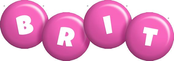 Brit candy-pink logo