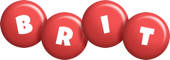 Brit candy-red logo