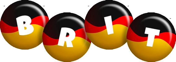 Brit german logo