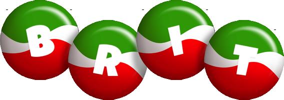 Brit italy logo