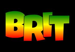 Brit mango logo
