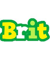 Brit soccer logo