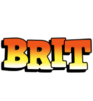 Brit sunset logo