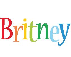 Britney birthday logo