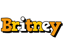Britney cartoon logo