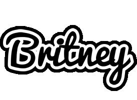Britney chess logo