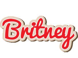 Britney chocolate logo