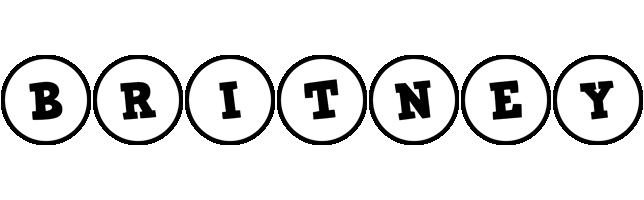 Britney handy logo