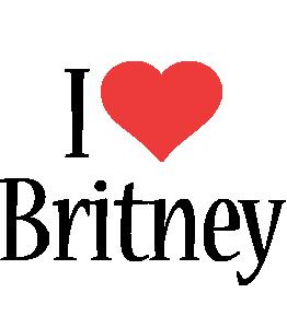 Britney i-love logo