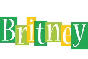 Britney lemonade logo
