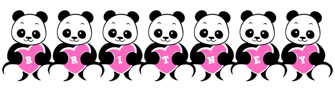 Britney love-panda logo