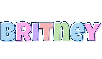 Britney pastel logo